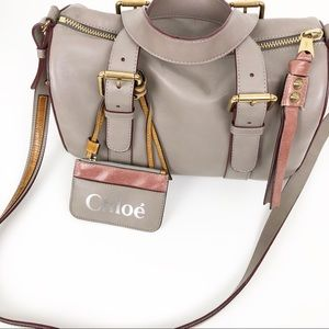 Chloe Arm / Shoulder / Crossbody Bag Gray